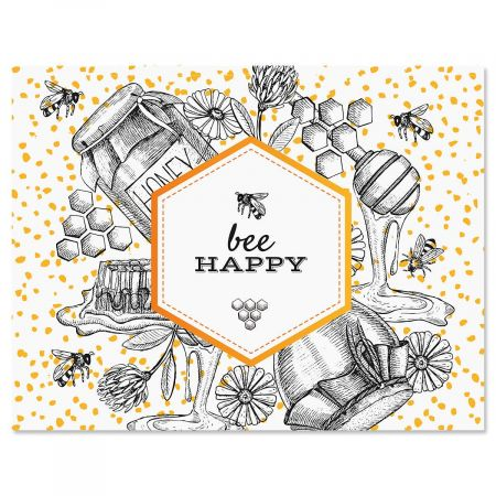 Oh Sweet Honey Custom Note Cards