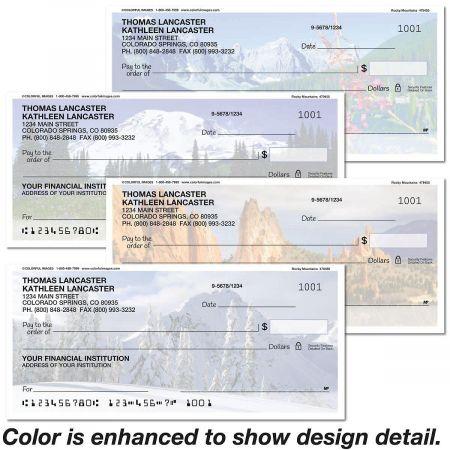 Rocky Landscapes Personal Checks