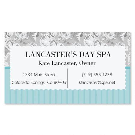 Gentle Rose Standard Business Cards