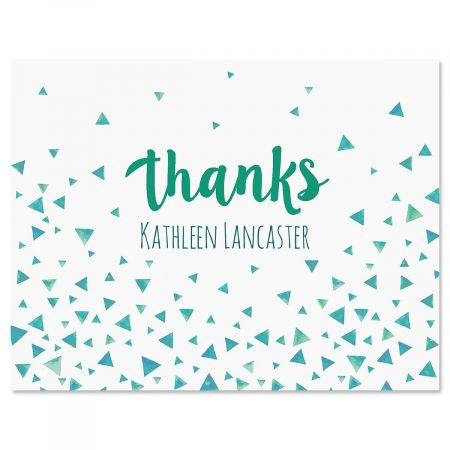 Simple Thanks Custom Note Cards