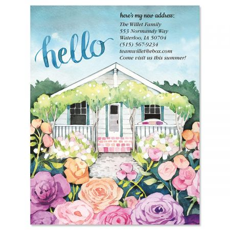 A New Hello Postcard