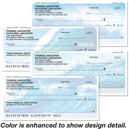 Energetic Ocean Personal Checks