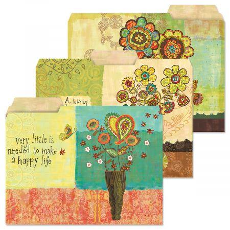 Gypsy Garden File Folders (3 Designs)