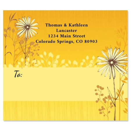 Spring Sketch Package Labels