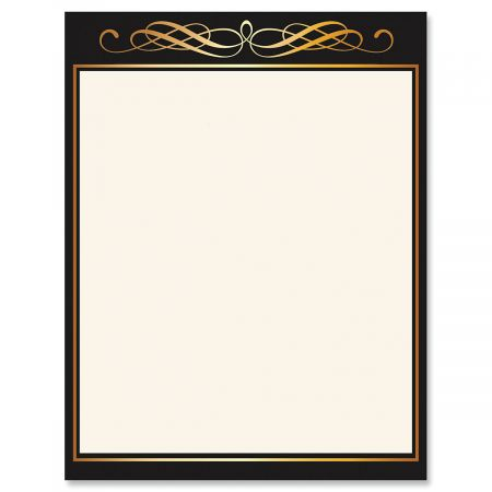 Calligraphy Frame Letter Papers
