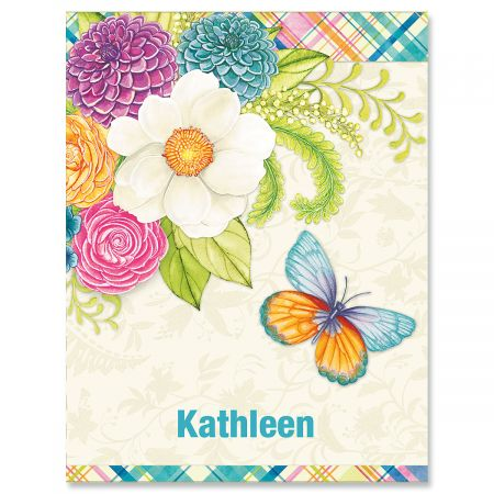 Bright Days Custom Note Cards