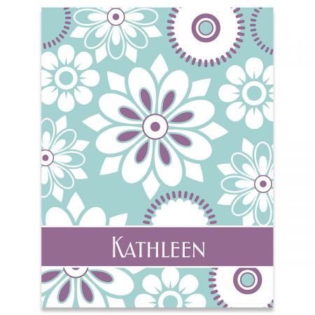 Vibrant Personalized Note Cards
