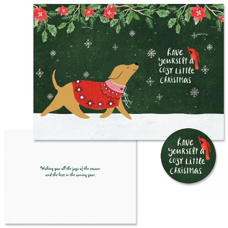 Cozy Christmas Cards