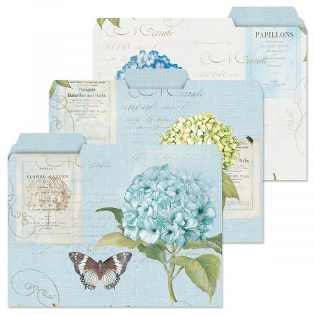 Hydrangea Nature File Folders