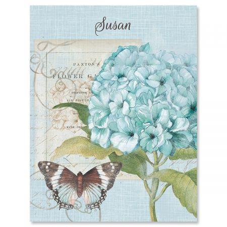 Hydrangea Nature Custom Note Cards