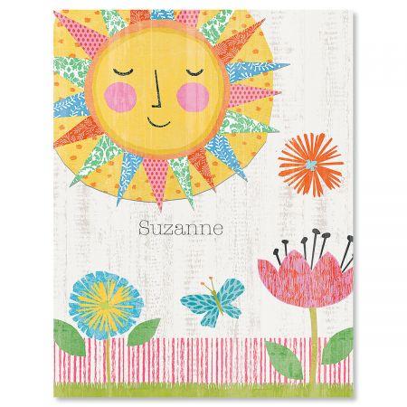 Hello Sunshine Custom Note Cards