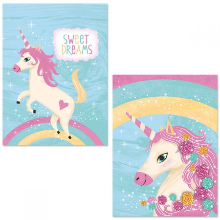 Happy Unicorn Note Card