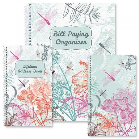 Dragonfly Dance Organizer Books