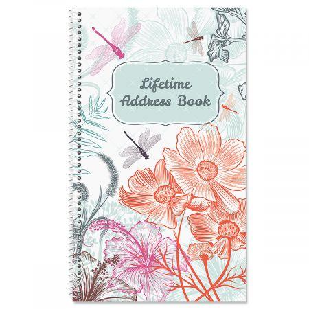 Dragonfly Dance Lifetime Address Book