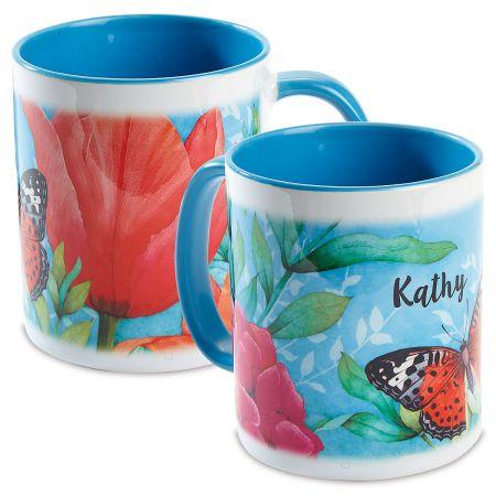 Personalized Garden Butterfly Mug
