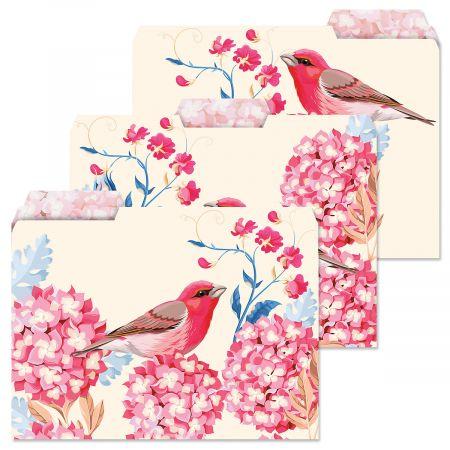 Summer Garden File Folders