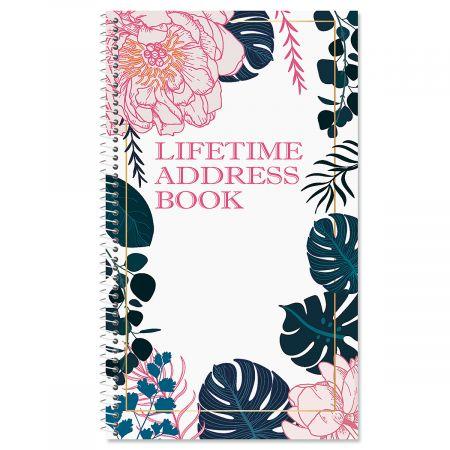 Lush Elegance Lifetime Address Book