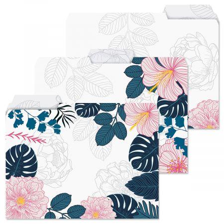 Lush Elegance File Folders