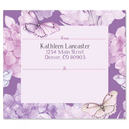 Purple Passion Package Labels