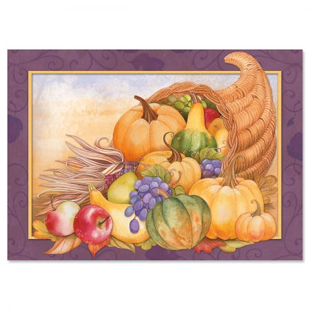 Blessed Thanksgiving Greeting Cards