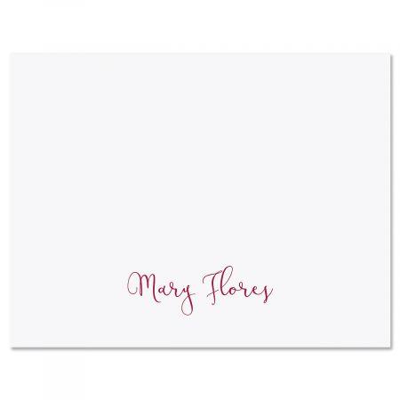 Simple Script Custom Note Cards