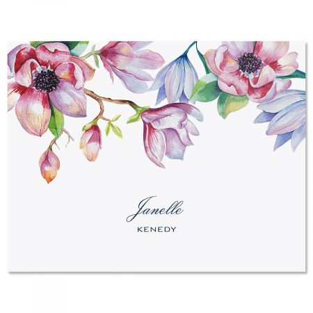 Magnolia Custom Note Cards