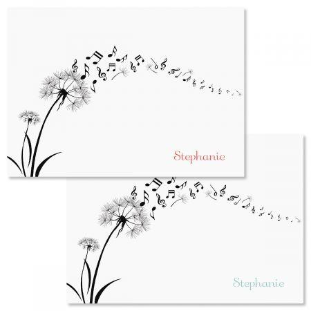Dandelion Notes Custom Note Cards