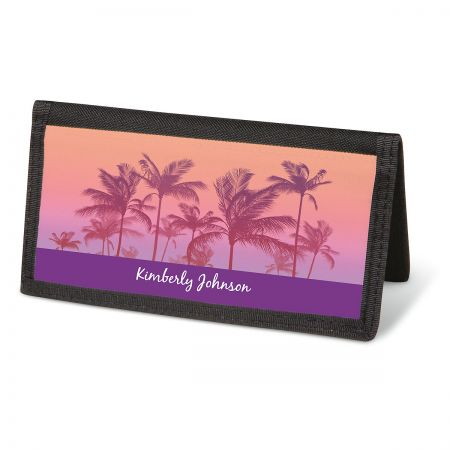 Tropical Palms Personal Checkbook Covers