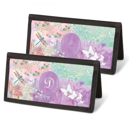 Vibrant Dragonflies Personal Checkbooks