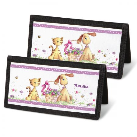 Cats & Dogs Personal Checkbook Covers