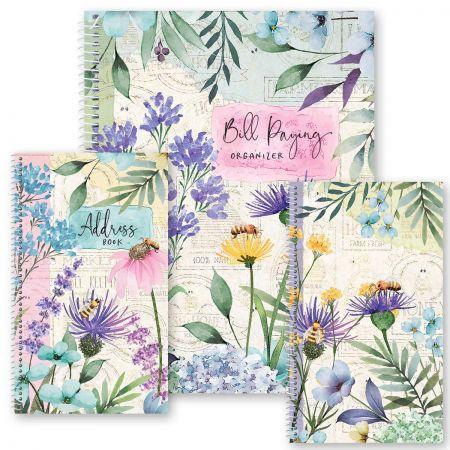 Wildflower Sanctuary Organizer Books