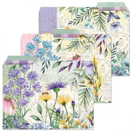 Wildflower Sanctuary File Folders