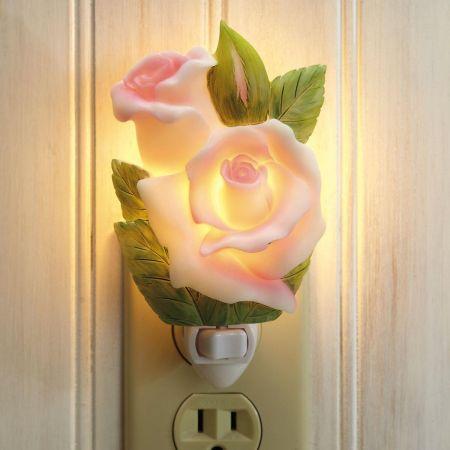 Rosebud Night Light