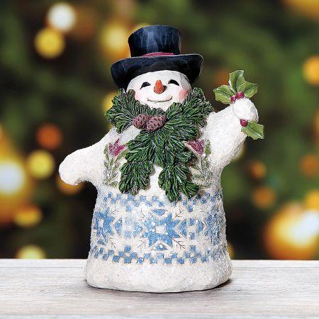 Victorian Snowman by Jim Shore