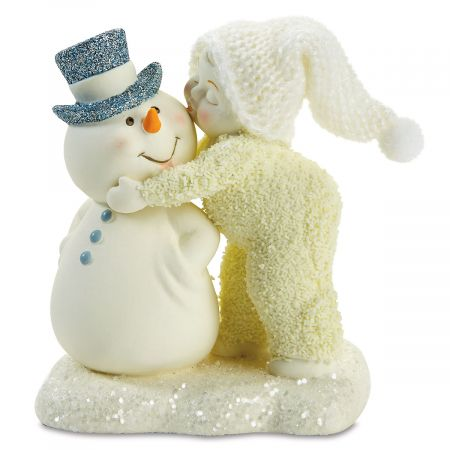 Snowbabies™ A Kiss for the Man I Love Figurine
