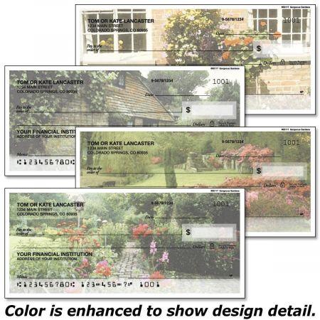 Gorgeous Gardens Personal Checks
