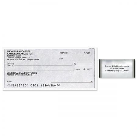 Mercury Magic Single Checks with Matching Address Labels