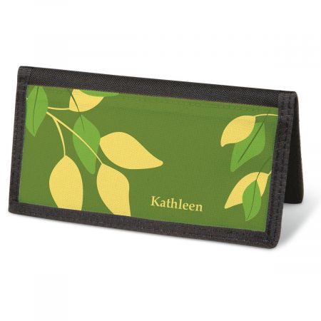 Sage Advice Checkbook Cover - Personalized