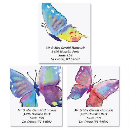 Butterfly Select Address Labels  (3 designs)