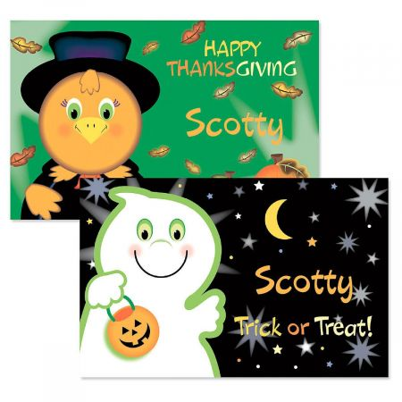 Ghost Personalized Placemats