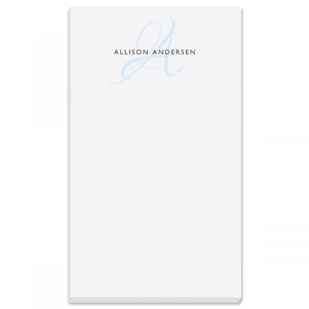 Initial Personalized Notepads