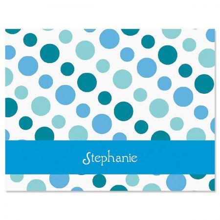 Zippy Dots Custom Note Cards