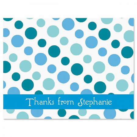 Zippy Dots Thank You Cards