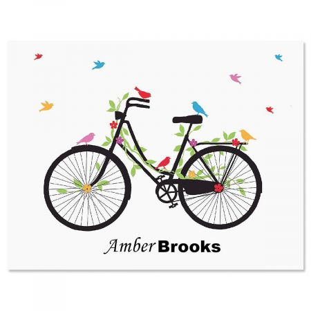 New Spin Custom Note Cards - Set of 24