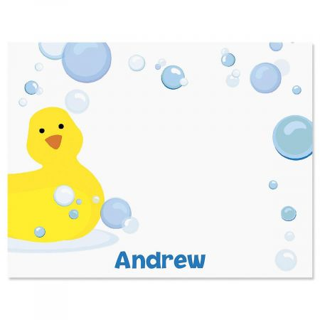 Just Ducky Personalized Correspondence Cards