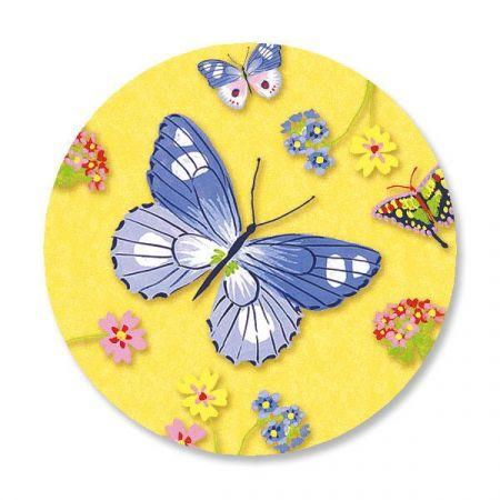 Download Butterflies Envelope Seals | Colorful Images