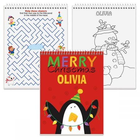 Color & Activity Personalized Book