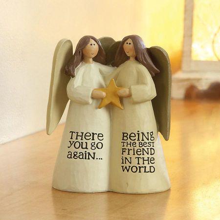 Best Friends Angels Figurine