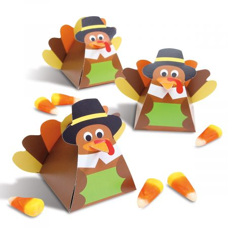 Turkey Favor Boxes - Buy 1 Get 1 Free