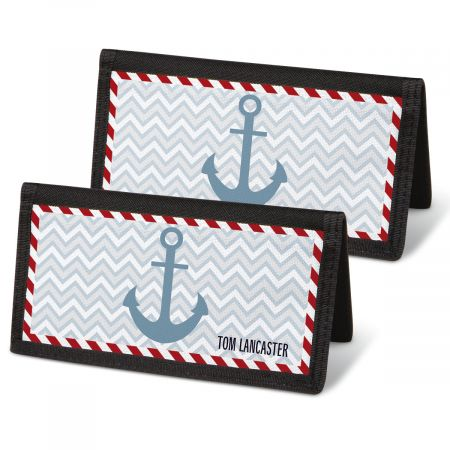 Nautical Chic Personal Checkbook Covers